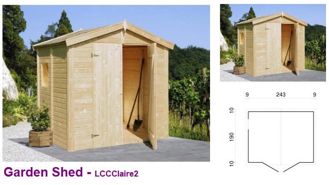 Timber garden rooms wooden garden sheds rooms uk for Garden shed 2 rooms