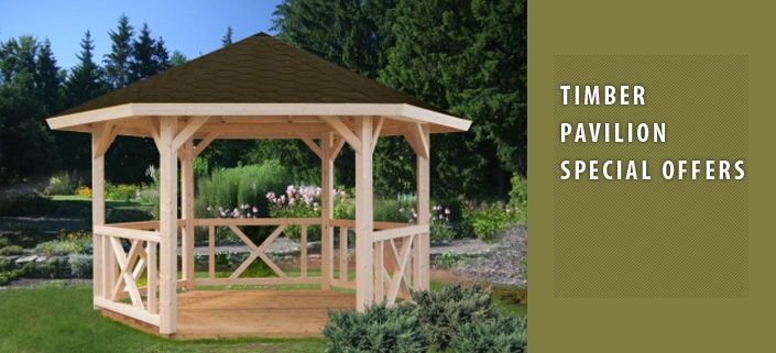 Timber Garden Pavilions Summer Pavilions Sports Pavilion Sales