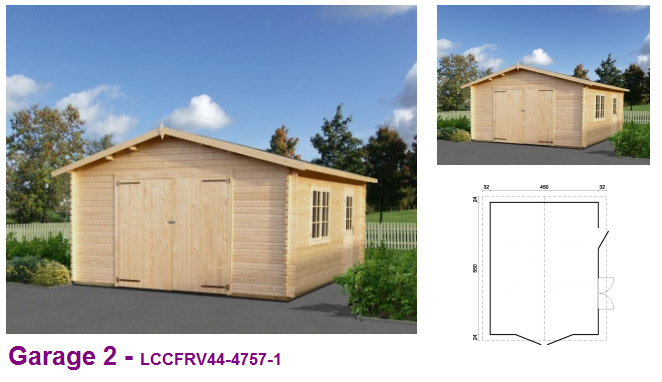 Timber garages uk wooden garages for sale single double for Log cabin garages for sale