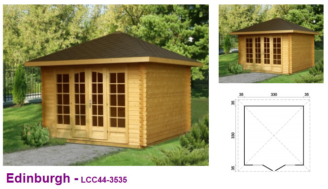 Timber garden offices home garden office company uk for Timber garden office